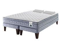 Cama Europea Design Essence 5 BD 2 Plaza CIC + Almohadas Viscoelásticas $239.990