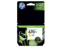Tinta HP 670XL Amarillo $10.990