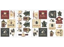 Sticker Decorativo Coffee House Roommates $7.990