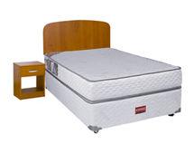 Set Box Americano Apolo 1,5 Plaza Celta + Muebles Asturias + Textil $119.990