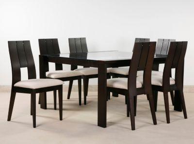 Comprar juego de comedor guan cuadrado 8 sillas attimo for Comedor 8 personas cuadrado