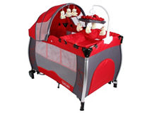 Bebeglo Cuna  Pack &  Play RS-6070 Rojo $99.990