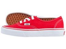 Zapatilla Authentic Red Vans $22.390