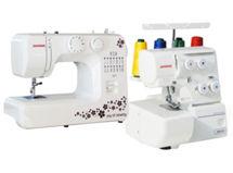Máquina de coser Janome 311+ Overlock 8002D $199.990