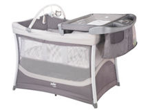 Infanti Cuna Plack and Play Playard Illusions Gris $109.990
