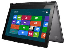 Notebook Lenovo Touch Convertible 11.6' Intel Core i3 4GB/128GBSSD $449.990