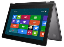 Notebook Lenovo Convertible Touch 11.6' Intel Pentium 4GB/500GB+16GBSSD $399.990