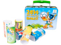 Fifa Set Caja Metal con Stickers $4.990