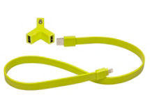 Cargador Auto Tylt Y-Charge + SynCable Verde iPhone 5/5S $7.990