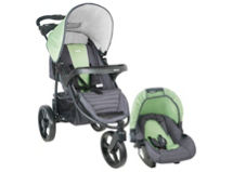 Infanti Coche Travel System Tizzy P60 Race Green $99.990