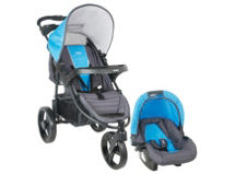 Infanti Coche Travel System Tizzy P60 Race Blue $99.990