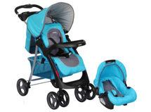 Infanti Coche Travel System Pompeya E30 Oval Azul $109.990