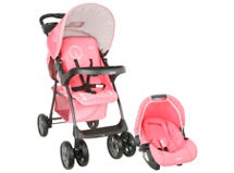 Infanti Coche Travel System London Raspberry $79.990