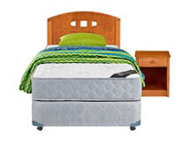 Box Americano 1,5 Plazas Essence 3 CIC + Set Gales Single + Textil $179.990