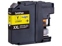 Cartucho de Tinta de alto rendimiento Brother LC505Y Amarillo $7.990