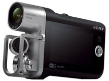 Camara video Sony HDR-MV1 Music Cam $149.990