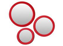 Set 3 Espejos Rojo Attimo $9.990