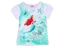 Princesas Polera Ariel Manga Corta $6.990