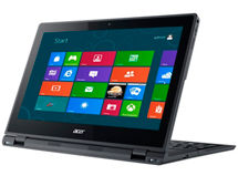 Notebook Acer Convertible Touch 12.5' Intel Dual Core 4GB/128GB SSD $429.990