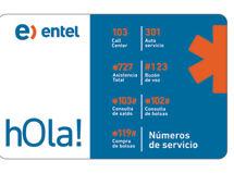 Sim Card Entel Nano Apple $9.990