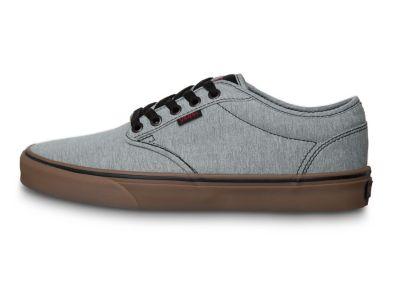 zapatillas vans hombre gris