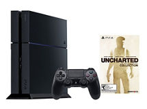 Consola PS4 500 GB + Uncharted Collection (descargable)