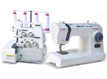 Máquina de coser QuiltMaster + Overlock Toyota SL3335 $379.990