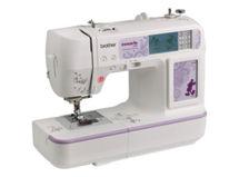 Máquina de coser y bordar con puerto de USB Brother NV950D $449.990