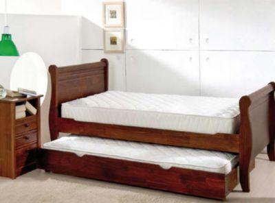 Cama cuja cama nido velador rosen paris for Sofa cama nido 1 plaza