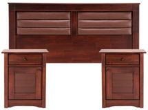 Set Muebles Rosen Bordeaux 2 Plazas $199.990