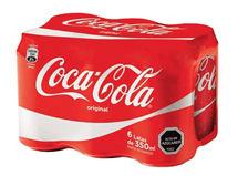 Six Pack Coca Cola Normal $2.590