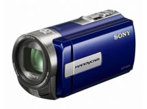 Cámara de video Sony DCR-SX45 Azul $99.990
