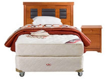 Box Americano Excellence Plus 1 Plaza Isidora: Muebles + Textil $239.990