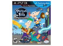 Juego PS3 Phineas And Ferb: Across The 2nd Dimension Disney $9.990