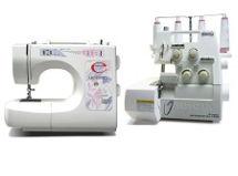 Máquina de coser Merrit 4020 + Overlock Toyota SL3335 $239.990