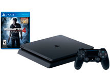 Consola PS4 500 GB Slim + Control Dual Shock + Uncharted 4.