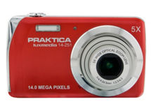 Cámara Digital Praktica Luxmedia 14-Z51 Red $49.990