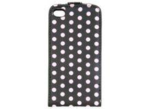 Estuche iPhone 4/4S Negro-Rosado $4.990