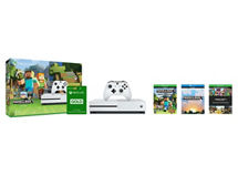 Consola Xbox One S 500GB + Minecraft Favorite Pack