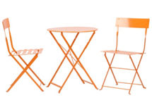 Set Terraza Mesa Happy + 2 Sillas $49.990