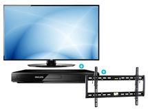 LED AOC 48' LE48H454F FULL HD + Reproductor DVD PHILIPS DVP2850/55 + Soporte TV Ecotek 25'60' Pulgadas PGW060 $449.990