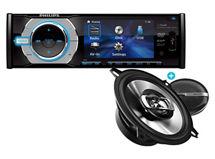 Combo Philips Radio CED-232 + Parlantes CSP515 $149.990