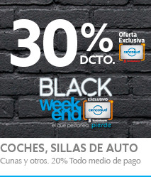 Black Weekend infantil