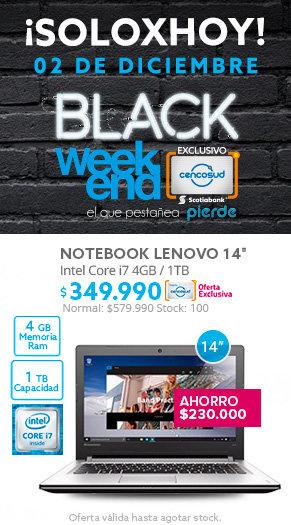 Black WeekEnd, Tecno