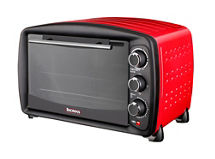 horno-eléctrico-thomas-th-25r-25-litros-rojo