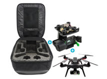 Drone 3DR Solo Negro + Accesorio Gimbal 3DR para Drone Solo + Mochila 3DR BackPack Travel para Done Solo